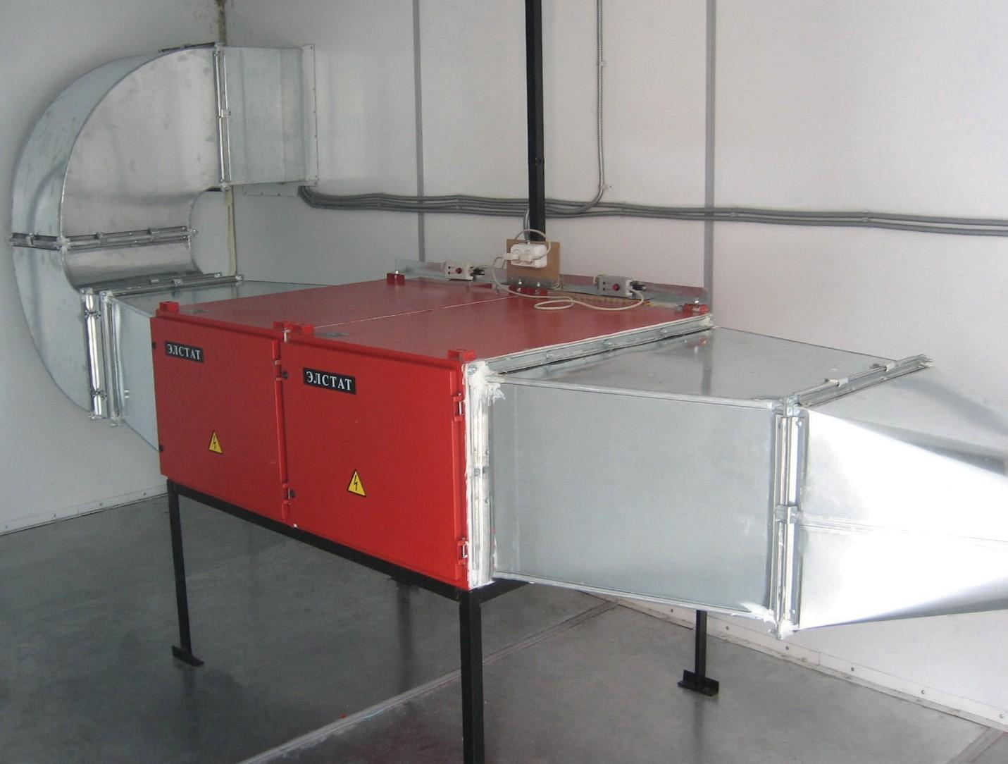 Системы очистки воздуха ЭЛСТАТ-МН от дымов мангалов, тандыров, коптилен в ресторанах, кафе и туманов масел на предприятиях пищевой промышленности.