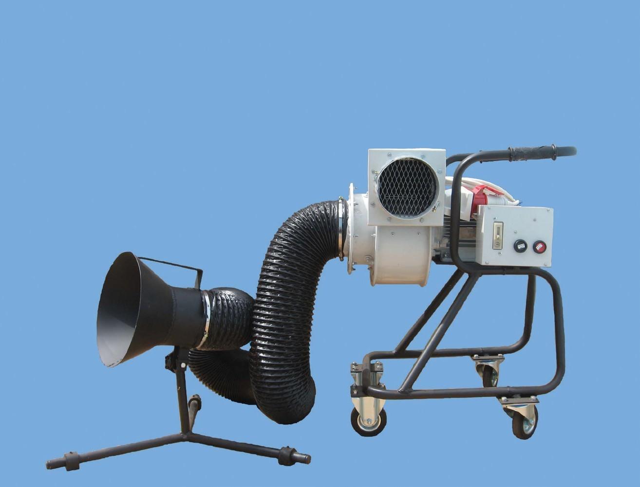 Универсальные передвижные вентиляционные установки УПВУ-ЭЛСТАТ