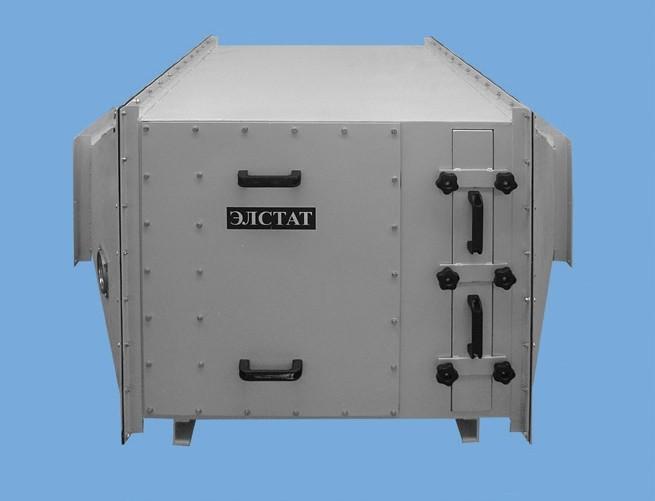 Фильтры ФСК-ЭЛСТАТ (блочной конструкции) – накопительного типа, со сменными фильтрующими кассетами картриджами. С пультом управления, измерительными приборами, системой сигнализации. Стационарные.
