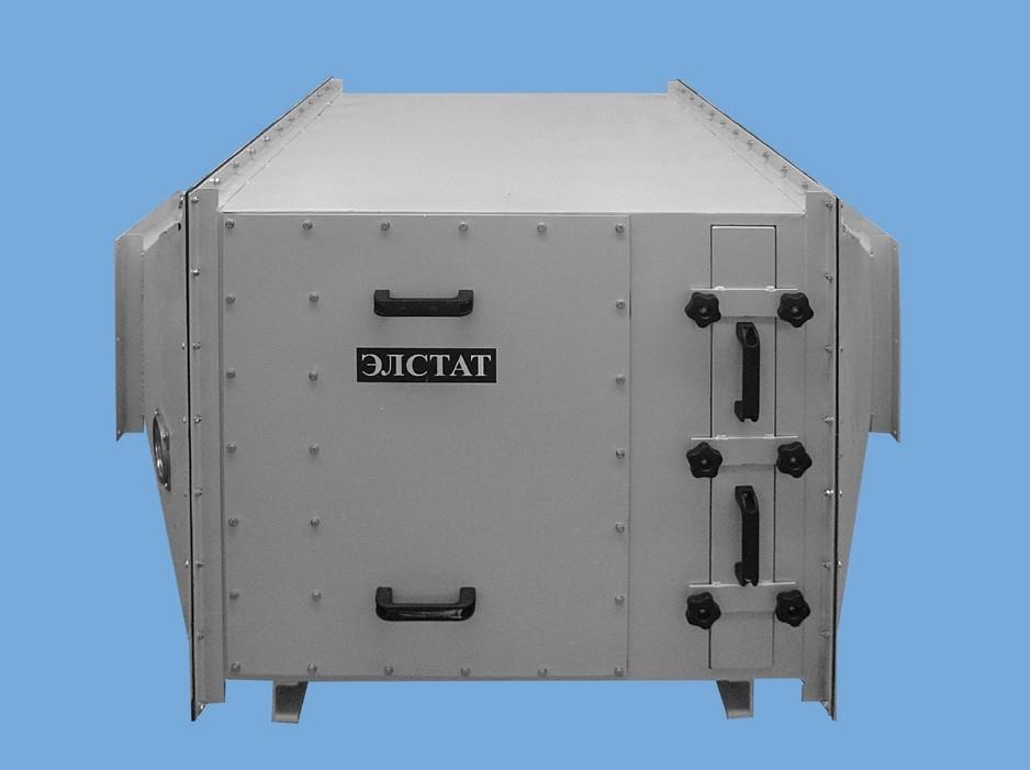 Фильтры ФСК-ЭЛСТАТ накопительного типа, со сменными фильтрующими кассетами - картриджами – для очистки воздуха от токсичных высокодисперсных или дорогостоящих пылей. С пультом управления, измерительными приборами, системой сигнализации. Передвижные и стационарные.