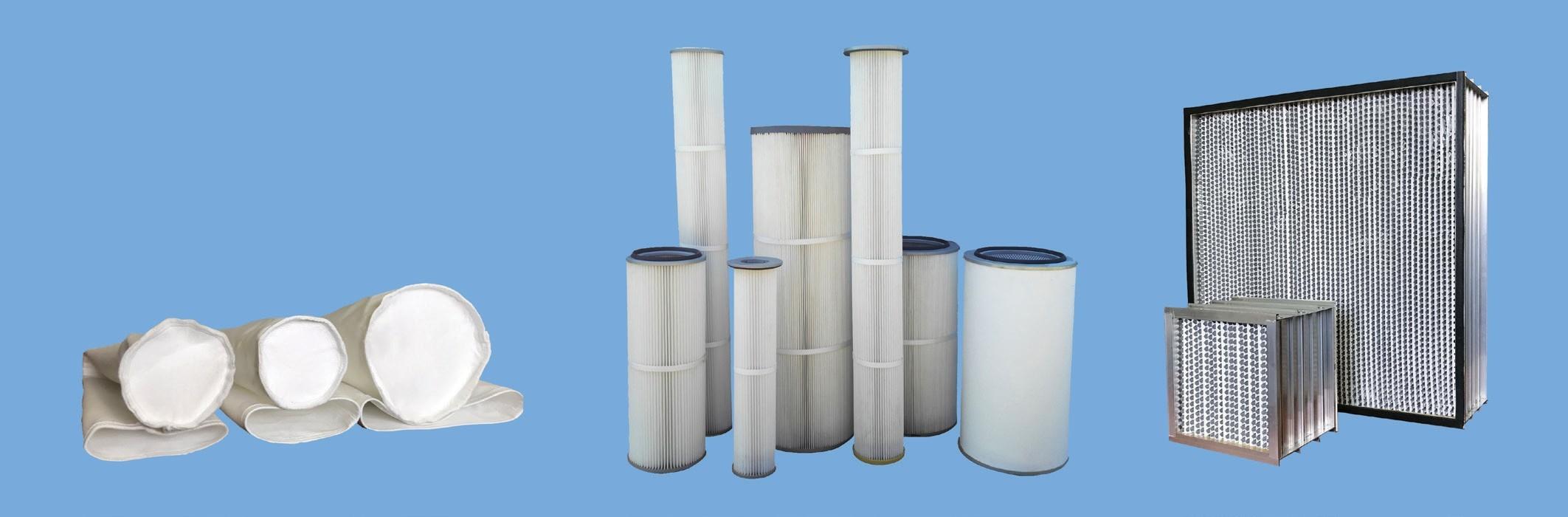 Фильтрующие рукава, фильтр-патроны, фильтры тонкой очистки воздуха